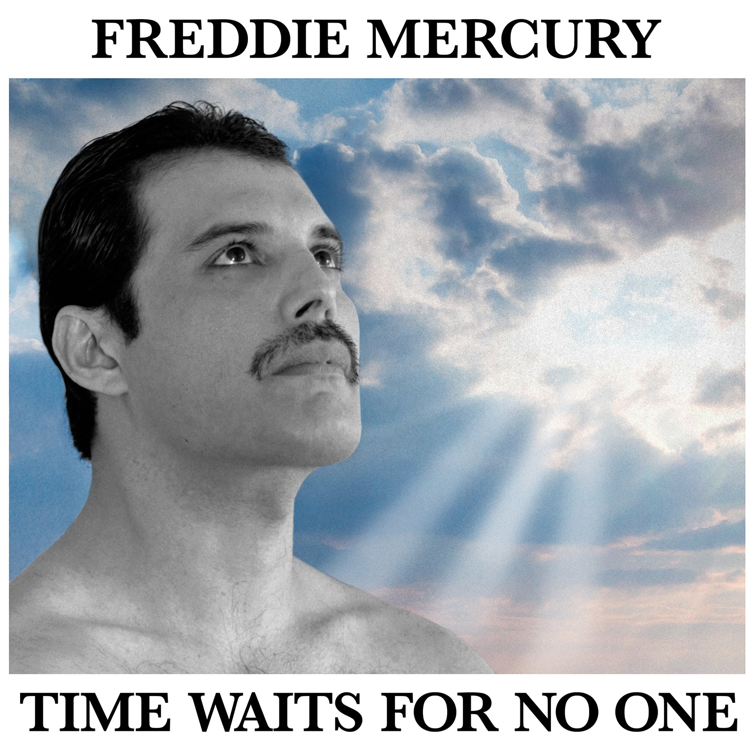 Freddie Mercury Time Waits For No One Cover Art